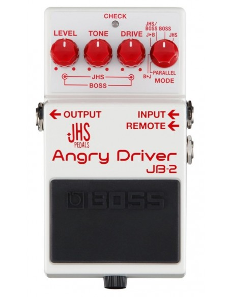 Pédale de distortion Boss JB-2 Angry Driver