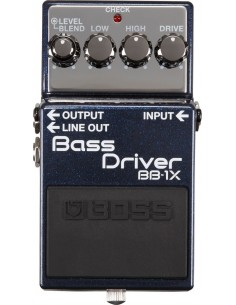 Pédale distortion Boss Bass Driver BB-1X