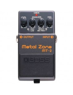 Pédale distorsion Boss Metal Zone MT-2