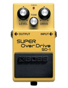 Pédale overdrive BOSS Super OverDrive SD-1