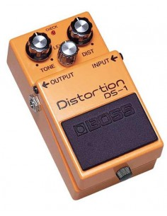 Pédale distortion Boss Distortion DS-1