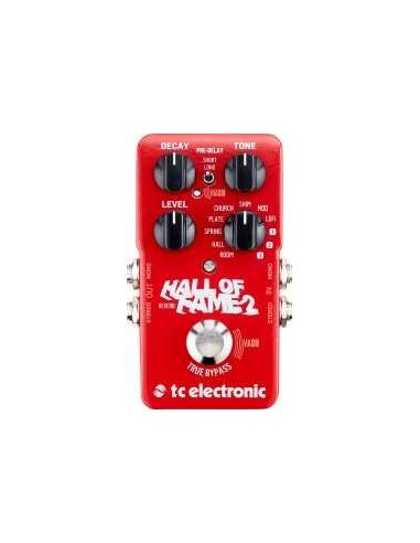 Pédale Reverb TC Electronic Hall of fame 2